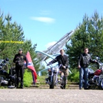 "On June, 23-26th, 2005, SPb, bikefest ""MOTOyaroslavets 2005"" Maloyaroslavets, the Kaluga region"