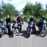 Trip on bikeshow Motoyaroslavets 2007 Maloyaroslavets, the Kaluga region
