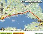 Itinerary for the exhibition MP 10 - Motorcycle Show, Helsinki, Finland