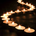 Action Candle memory devoted to the killed motor-tourist Alexey Barsukov