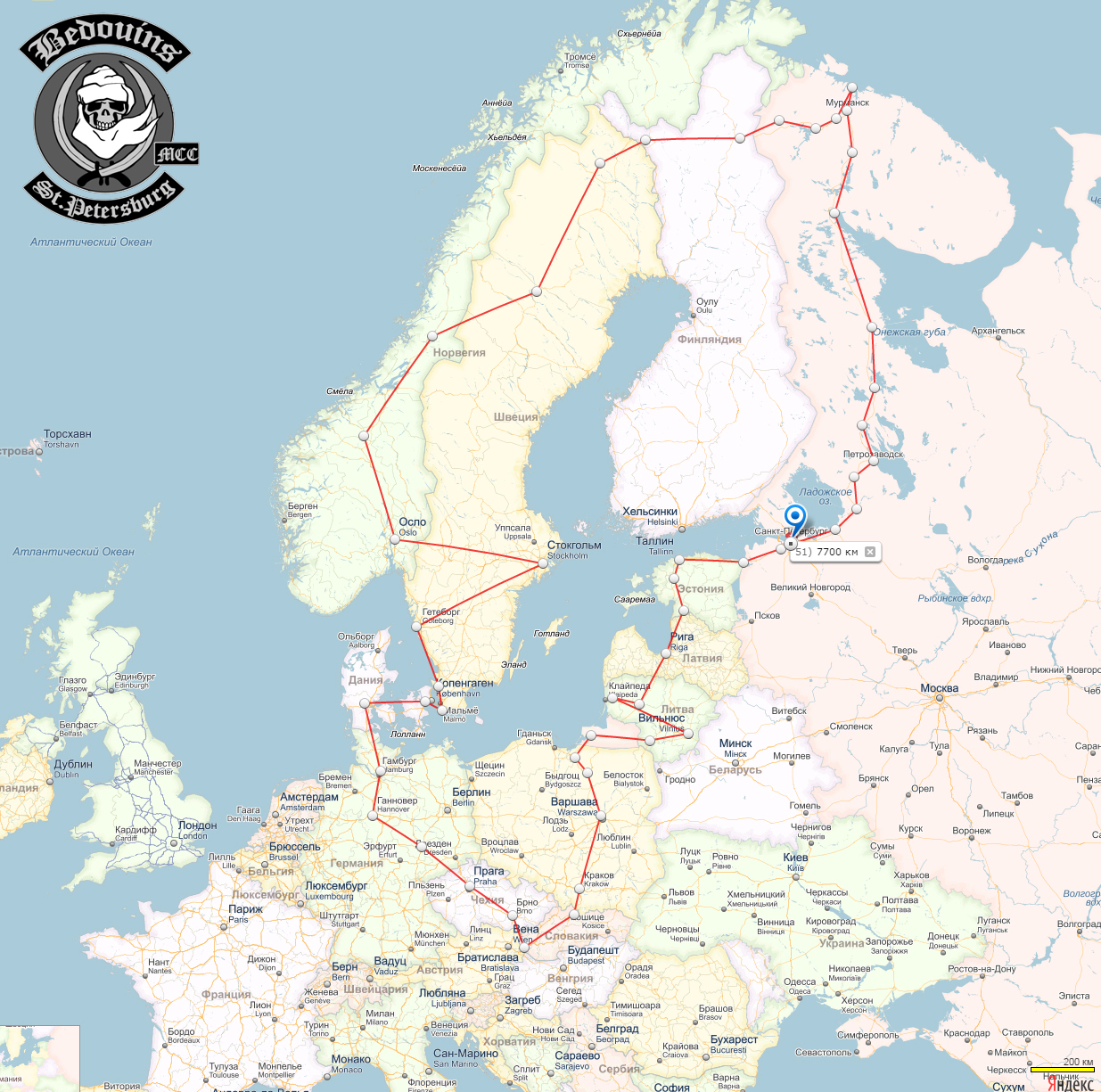 12.06-12.07.2015, МОТО-путешествие по Скандинавии, Европе, Прибалтике